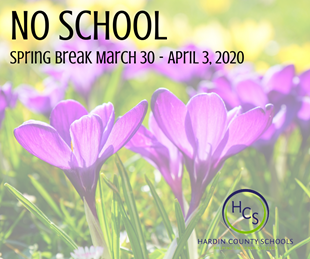 NO SCHOOL - SPRING BREAK linked image
